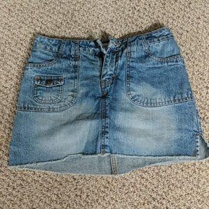 Jordache mini Jean skirt